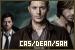 Castiel/Dean/Sam